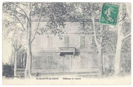 Cpa Saint Martin De Crau - Château La Laure - France