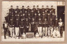 MILITARIA - CARTE PHOTO - 5 EME REGIMENT DE CUIRASSIERS , 4 EME ESCADRON , 3 EME PELOTON , 1907 - Régiments