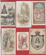 Vend Collection - Image Pieuse - Lot De 6 Images - De 1882 à 1908 - VOIR SCANN -  A17 - Devotion Images