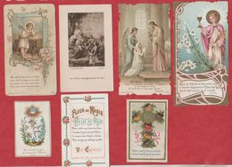 Vend Collection - Image Pieuse - Lot De 7 Images - A30 - Devotion Images