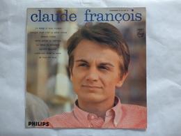 25 CM  CLAUDE FRANCOIS  LABEL PHILIPS 76.587 R  J'Y PENSE ET PUIS J'OUBLIE - Rock