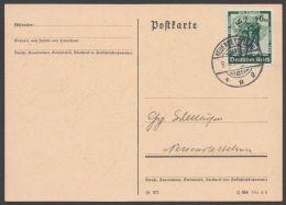 """FDC, Mi-Nr. 662, Seltener FDC, Ortsstempel """"Neuendettelsau"""", 8.4.38 - Deutschland"""