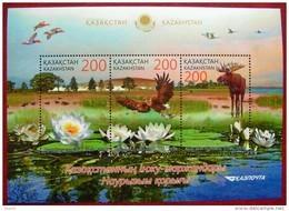 Kazakhstan 2014  Fauna  Naurzum Nature Reserve  S/S    MNH - Kazakhstan