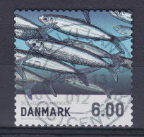 Denmark 2013 Mi. 1725 A    6.00 Kr Fische Fish Sild Herring Hering (From Sheet) Deluxe Cancel !! - Dänemark