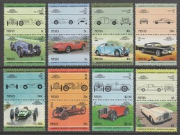 SERIE NEUVE DE NEVIS - AUTOMOBILES N° Y&T 251 A 266 - Cars