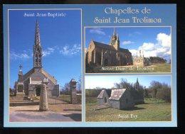CPM Neuve 29 SAINT JEAN TROLIMON Les Chapelles  Multi Vues - Saint-Jean-Trolimon