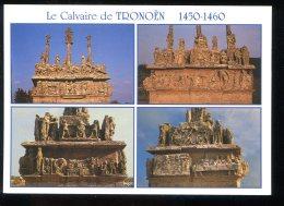 CPM Neuve 29 SAINT JEAN TROLIMON Le Calvaire De Tronoën  Multi Vues - Saint-Jean-Trolimon