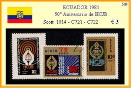 ECUADOR 1981 - 50° Aniversario De HCJB - Equateur
