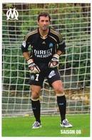 Fiche - Olympique De Marseille OM  - Rudy RIOU - Saison 2008/09 - Sports