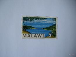 MALAWI 1964. Monkey Bay - Lake Nyasa. 5s. SG 225A (Type II). USED. - Malawi (1964-...)