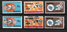 Nigeria, 1974 UPU Centenary, Complete Set MM And Used (6824) - Nigeria (1961-...)