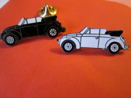 PIN'S   LOT    VOLKSWAGEN  COCCINELLE  Cabriolet    Email G F - Volkswagen