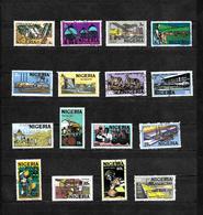 Nigeria, 1973 Pictorials, Complete Set Used To 1n (6826) - Nigeria (1961-...)