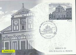 Italien '1000 J. Basilika San Miniato Al Monte Florenz' / Italy 'San Miniato Al Monte Basilica In Florence' MK/MC 2018 - Eglises Et Cathédrales