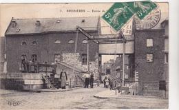 62 BREBIERES - Entree De La Ville  -  Pont Levis  Barrage - CPA  9x14 N/B  BE - Other Municipalities