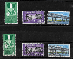 Nigeria, 1966 Third Anniversary Of Republic Complete Set MNH And Used (6834) - Nigeria (1961-...)