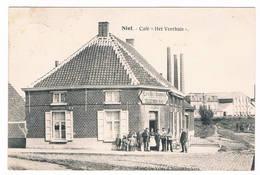 """Niel - Café ''Het Veerhuis"""""""" 1920 (Geanimeerd) - Niel"""