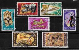 Nigeria, 1965 Wildlife Pictorials, Selection To 5/- Used (6835) - Nigeria (1961-...)