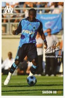 Fiche - Olympique De Marseille OM  - Mamadou NIANG - Saison 2008/09 - Sports