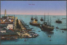 Der Hafen, Port Said, C.1910 - Glueckstadt & Muenden AK - Port Said