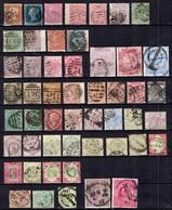 Grande-Bretagne Très Belle Collection De Classiques 1841/1900. Nombreuses Bonnes Valeurs. Très Forte Cote. A Saisir! - Great Britain