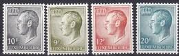 1975, Luxemburg, 899+819/21, Großherzog Jean. MNH ** - Luxembourg