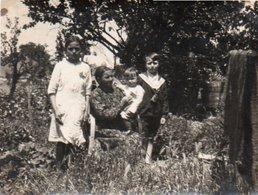 86Cps  Photo Saint Jean De Thouars Le Jardin Sur Le Thouet En 1927 - Thouars
