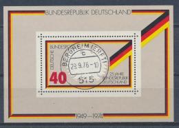 Duitsland/Germany/Allemagne/Deutschland 1974 Mi: Block 10  (Gebr/used/obl/o)(3660) - Blocs