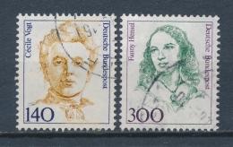 Duitsland/Germany/Allemagne/Deutschland 1989 Mi: 1432-1433  (Gebr/used/obl/o)(3673) - [7] West-Duitsland