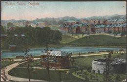 Crookes Valley, Sheffield, Yorkshire, 1905 - Scott Russell Postcard - Sheffield