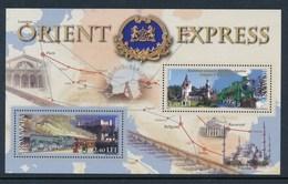 Rumänien 2010 Mi. Block 60 (2889 + 2890) Postfr. Orient Express Eisenbahn - Nuevos