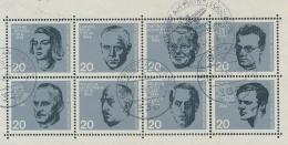 Duitsland/Germany/Allemagne/Deutschland 1964 Mi: 431-438  (Gebr/used/obl/o)(3683) - BRD