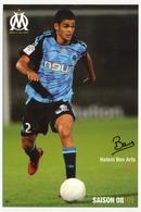 Fiche - Olympique De Marseille OM  - Hatem BEN ARFA - Saison 2008/09 - Sports