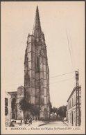 Clocher De L'Eglise St-Pierre, Marennes, C.1920s - Lévy Et Neurdein CPA LL6 - Marennes