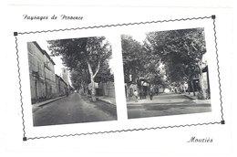 Cpsm Mouriès - Paysages De Provence - Avenue Pasteur - Le Cours Paul Revoil - France