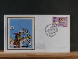78/217A FDC BELGE SOIE - Stripsverhalen