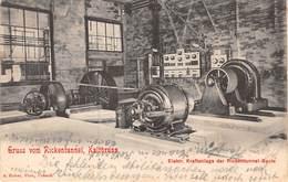 CPA  Suisse, Gruss Vom Rickentunnel, KALTBRUNN - Elektr Kraftanlage Der Rickentunnel - Baute - SG St-Gall