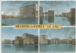 """Meudon-la-Forêt-""""Le Lac""""-Multi-vues (Moyennement Abîmée Coin Haut à Gauche,voir Scan) (CPSM) - Meudon"""