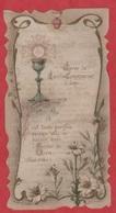 Image Pieuse - 1905 -  SANTINO - Holly Card - Après La Saint Communion ...... - Devotion Images