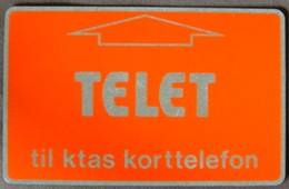 DENMARK - TDKD001, LG, KTAS, Telet, D0 107 000 To D0 199 999, 1983, Mint - Denmark