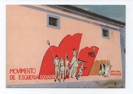 PORTUGAL CUBA Dist. BEJA ART POSTCARD 1970 Years BEJA ADVERT PROPAGANDA POLITICAL ALENTEJO PORTUGAL - Beja