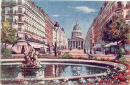 PARIS - Panthéon - Place Médicis  (108240) - Paintings