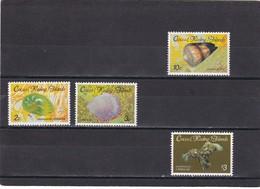 Cocos Nº 138 Al 141 - Islas Cocos (Keeling)