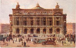PARIS - L' Opéra - Tramway - Autos... (108241) - Paintings