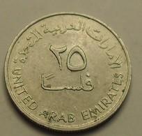1984 - Emirats Arabes Unis - United Arab Emirates - 1404 - 25 FILS - KM 4 - Emirats Arabes Unis