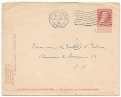 ENTIER POSTAL.ENVELOPPE....1910.. CACHET DE FACTEUR.  92.. TBE - Entiers Postaux