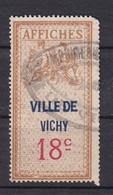 Timbre Fiscal Affiches Ville De VICHY N° ?? - Revenue Stamps