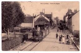 2248 - Tigy ( 45 ) - Route De Jargeau - Bergerat édit. - - France