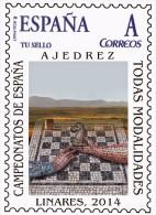 Spain 2014 - Campeonato De España De Ajedrez - Linares 2014 Mnh - Ajedrez