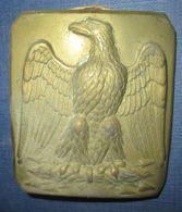 Plaque De Ceinturon Troupe Infanterie Second Empire - Army & War